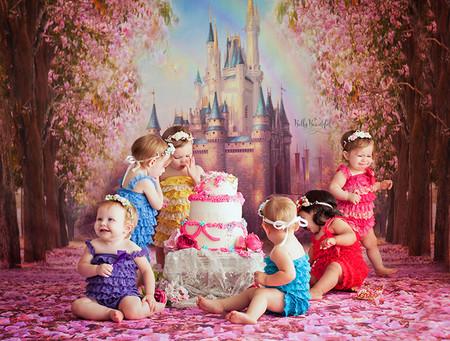 Sesion Princesas Disney Cake Smash 1