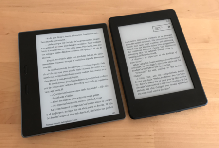 Kindle Oasis Paperwhite