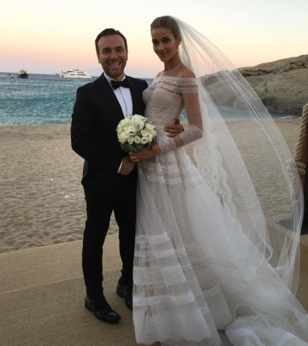 Ana Beatriz Barros Valentino Wedding Dress Design