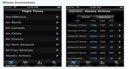 Aplicaciones viajeras para el iPhone: Flysfo