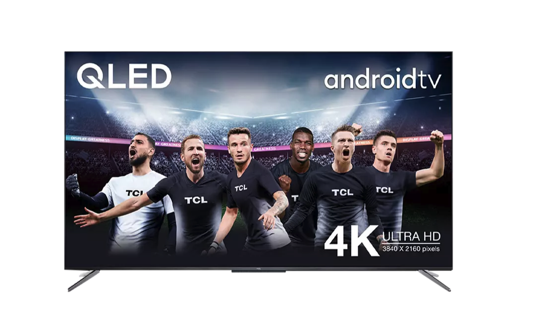 "TV QLED 55"" - TCL 55C715, Smart TV 4K UHD, AndroidTV, Dolby Atmos, HDR10+, Google Assistant integrado"