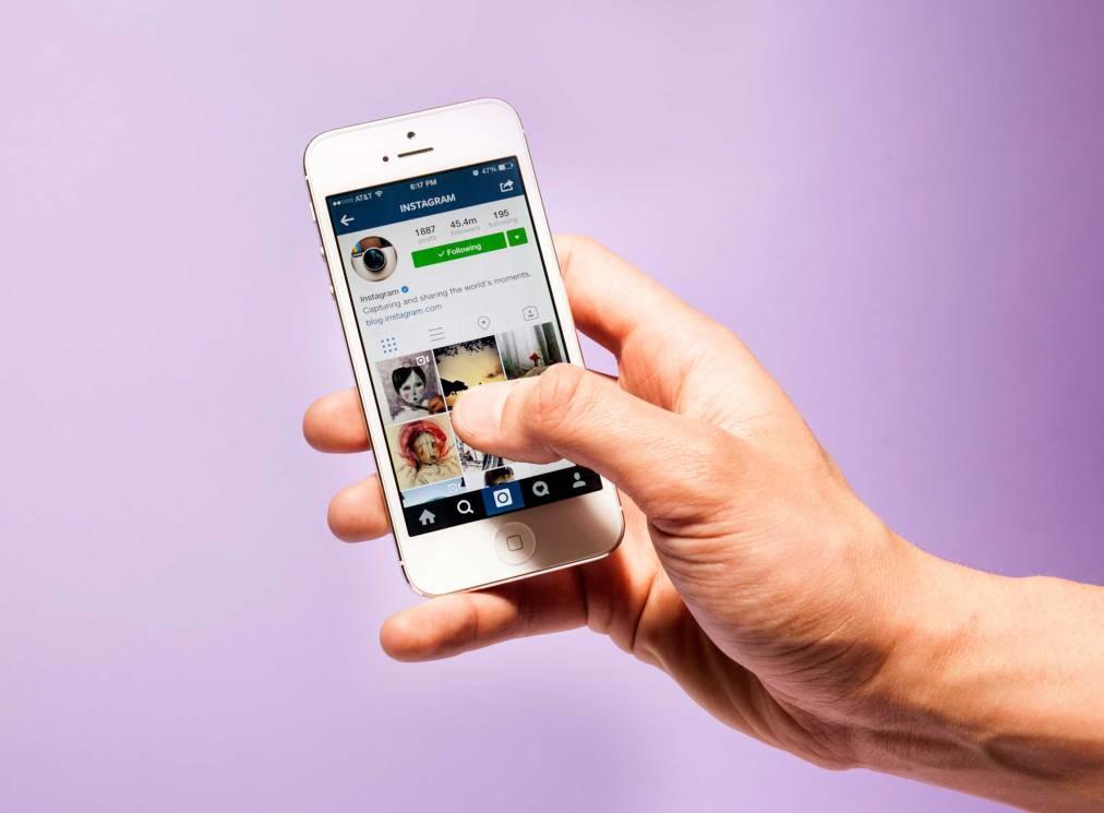 Iphone Social App Instagram