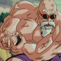 Cuánta energía necesitó Muten Roshi en Dragonball para destrozar la Luna