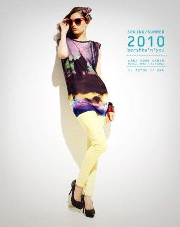 Bershka viste a la mujer joven este verano 2010: lookbook completo con todos los estilos VIII