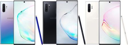 Note 10 Versiones