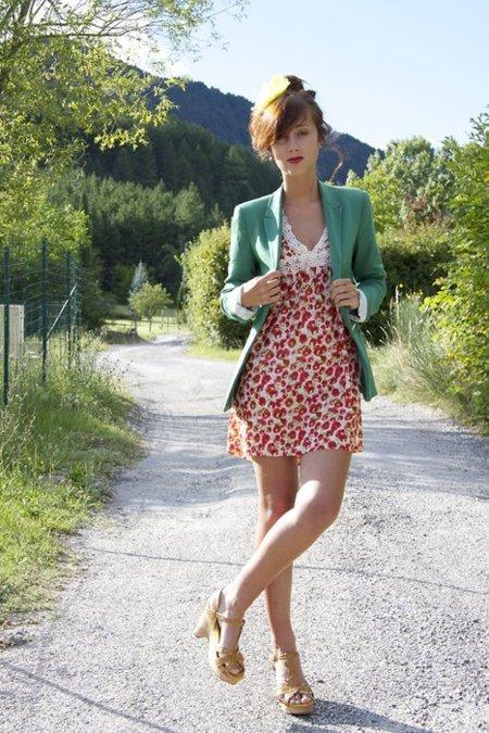 Jeane B Zara vestido