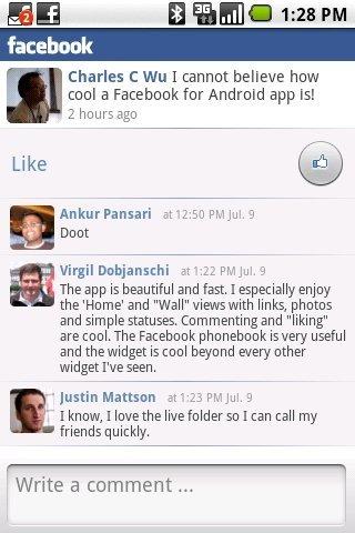 Facebook para Android se actualiza