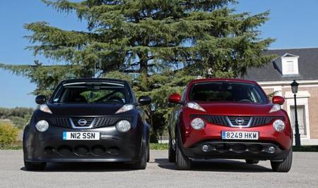 Nissan Juke-R y Juke normal