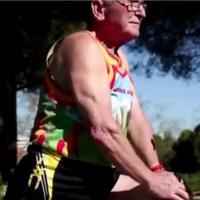 Constantino Ramirez, maratonista a los 79 años