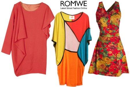 Romwe shopping vestido