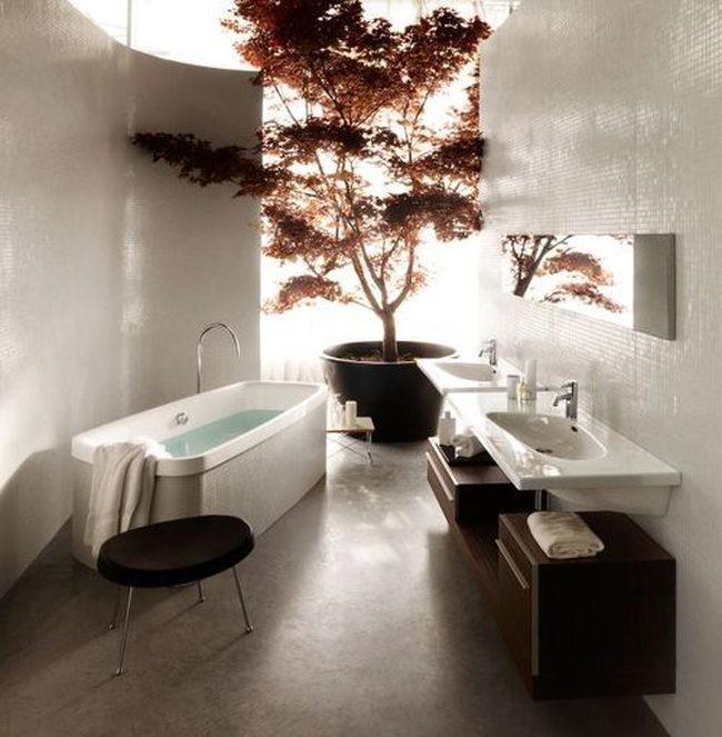 Imagenes De Baño Frio:Cambio de estilo, del frío nórdico al minimalismo japonés
