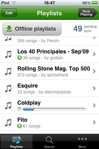 Foto de Spotify para iPhone (11/26)