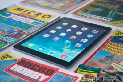 El iPad air consigue atraer la atención de los compradores haciendo muy buenos números de ventas