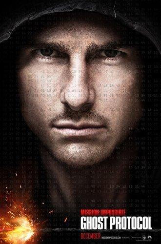 'Misión: Imposible - Protocolo Fantasma', cartel