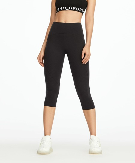 Leggings Compresivos Oysho Sport Media Pierna