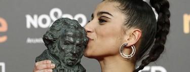 Premios Goya 2019: el delineado gráfico de Carolina Yuste del que tomar muy buena nota