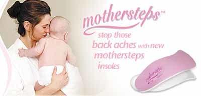 Mothersteps: plantillas para embarazadas