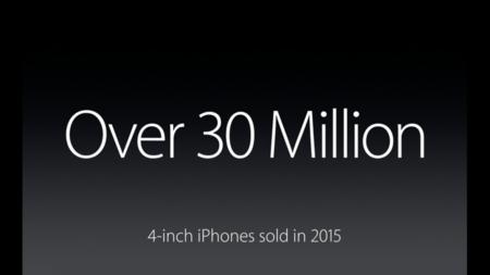 Ventas de iPhone de cuatro pulgadas en 2015