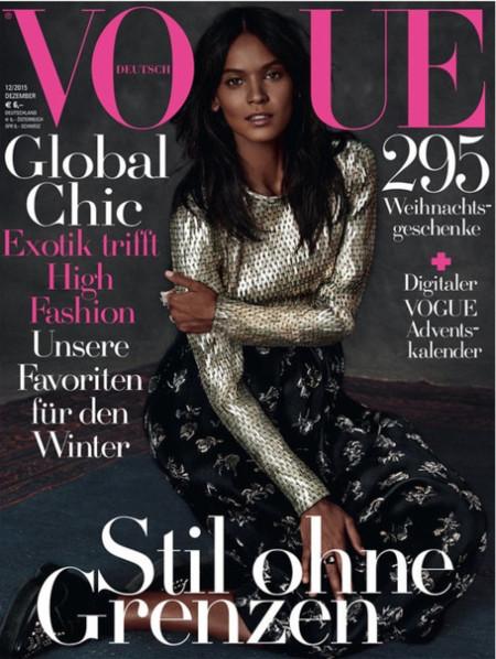Vogue Alemania: Liya Kebede
