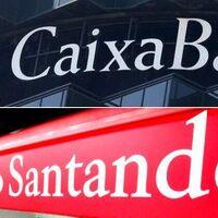 Santander vs la futura Caixabank: el duelo en la banca española