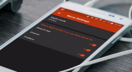 La última beta de Nova Launcher incluye un modo noche y más barras de búsqueda