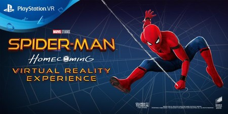PlayStation refuerza su catálogo de VR con tres nuevas experiencias: Spider-Man Homecoming, Arizona Sunshine y CoolPaintr VR