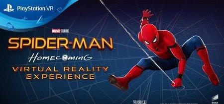 PlayStation refuerza su catálogo de VR con tres nuevas experiencias: Spider-Man Homecoming, Arizona Sunshine y CoolPaintr VR
