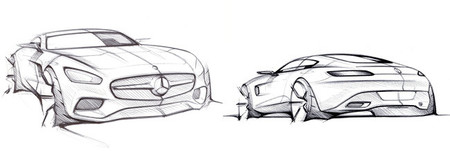 Mercedes Amg Sketch