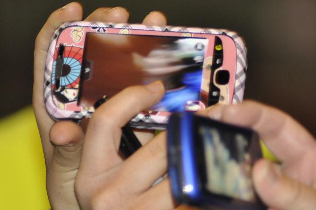 Foto con móvil