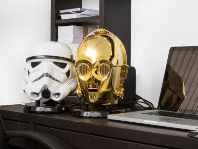 La fuerza (del sonido) será más fuerte que nunca con estos altavoces Bluetooth de Star Wars