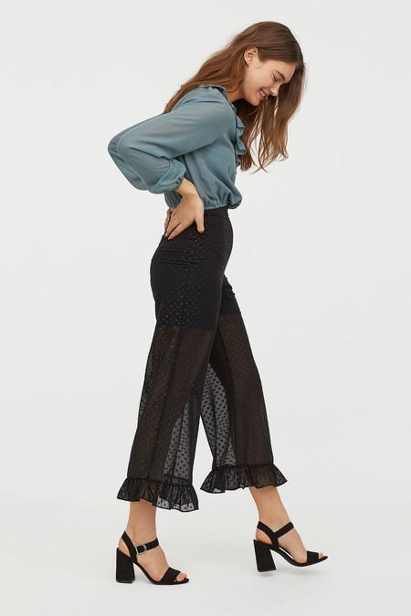 pantalon transparente navidad