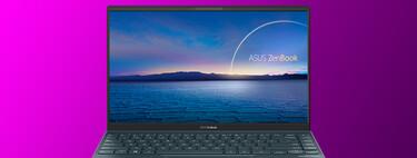 El novísimo ultrabook Asus ZenBook 14 con procesador Intel de 11ª generación está 100 euros más barato en El Corte Inglés