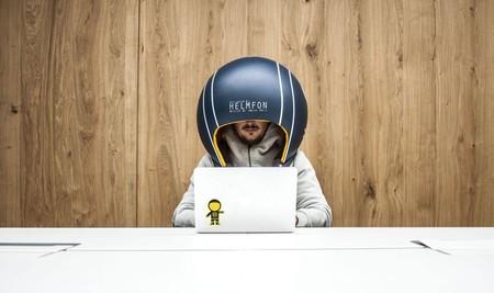 Este casco quiere ser la solución para quienes buscan concentrarse y ser productivos en la oficina
