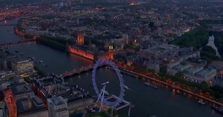 Cinco impresionantes videos para descubrir Londres a vista de drone