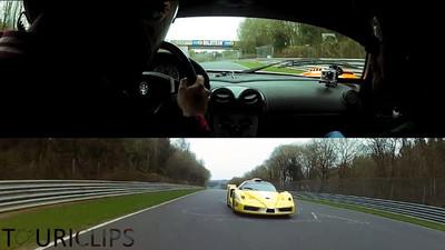 Maserati MC12 vs Ferrari Enzo ZXX, duelo al sol en Nürburgring-Nordschleife