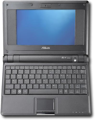 Asus Eee con pantalla táctil y Atom de doble núcleo para enero