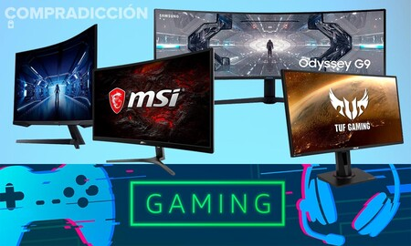 Ofertas gaming en Amazon: 21 monitores de AOC, ASUS, BenQ, HP, MSI, Ozone y Samsung a los mejores precios