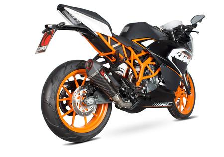 Scorpion saca aún más punta a la KTM RC 125 con el nuevo Serket