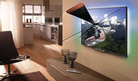 Philips se apunta a la fiesta con un prototipo de televisor 4K y 3D sin gafas