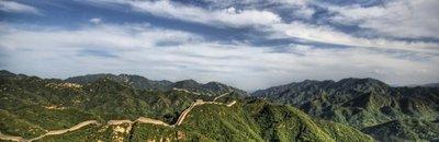 Ya podemos sobrevolar la Gran Muralla china en helicóptero