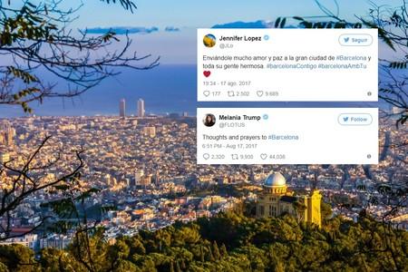 Famosos de todo el mundo envían su apoyo a Barcelona. #TotsSomBarcelona