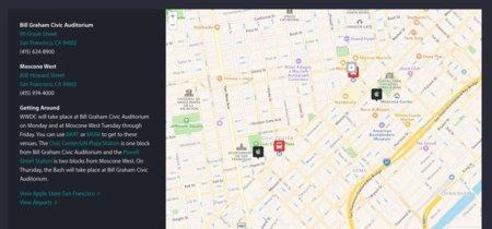 La web de Apple delata una posible API pública para sus mapas