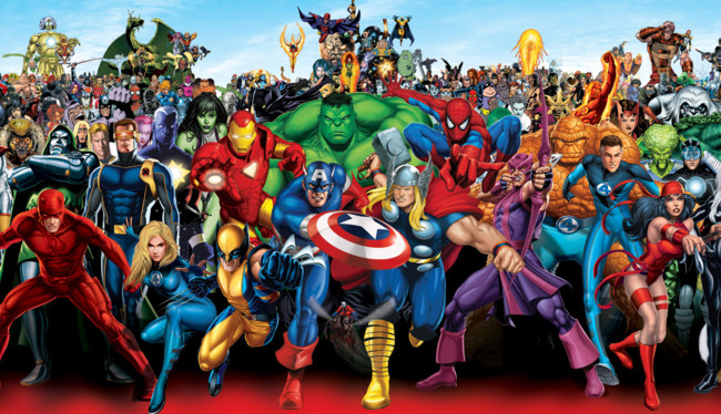 Marvel Character Group Crop