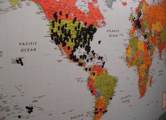 Mapa Compañeros de ruta