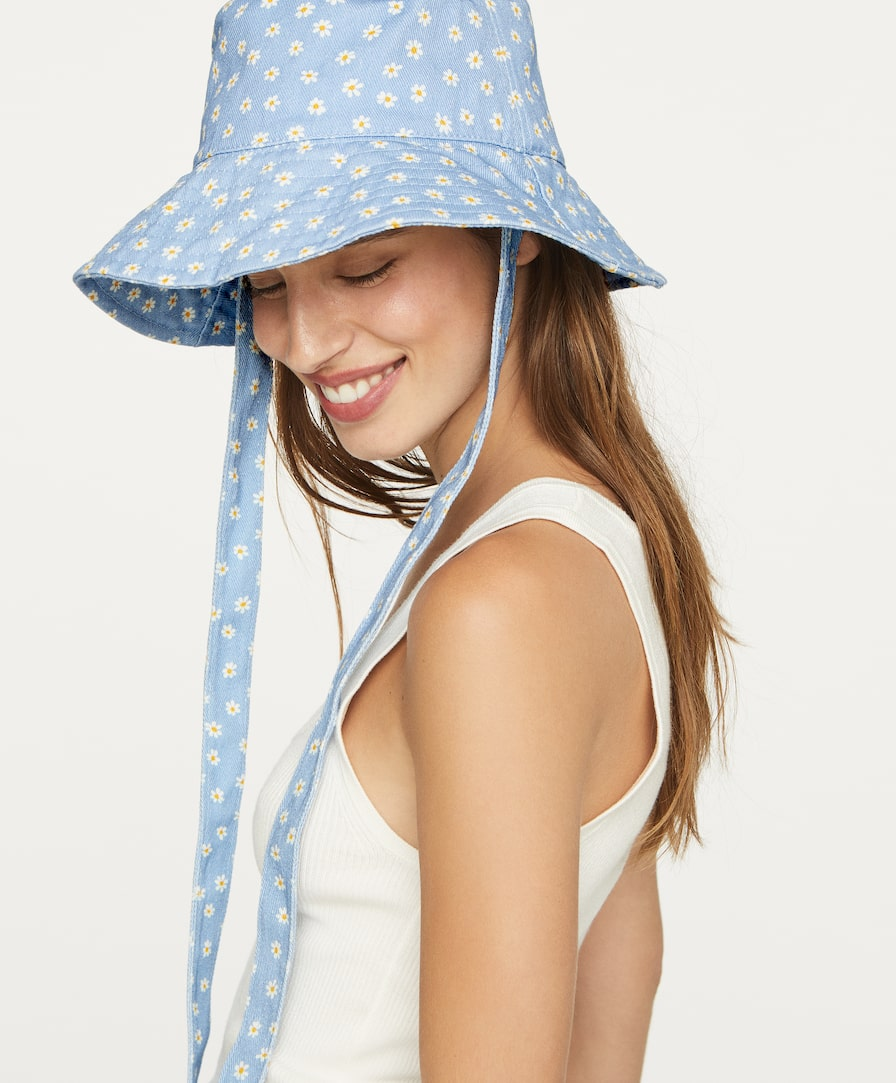 Sombrero bucket de margaritas