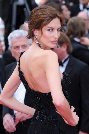 Nieves Álvarez en Cannes de profesión... ultradivina