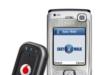 Easy Walk de Vodafone ayuda a las personas con discapacidad visual