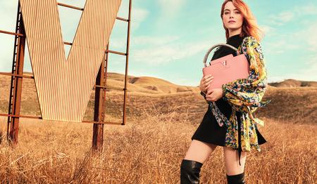 Campana De Emma Stone Para Louis Vuitton7