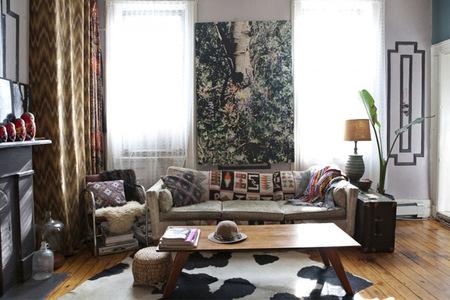 Un salón lleno de arte y de vida