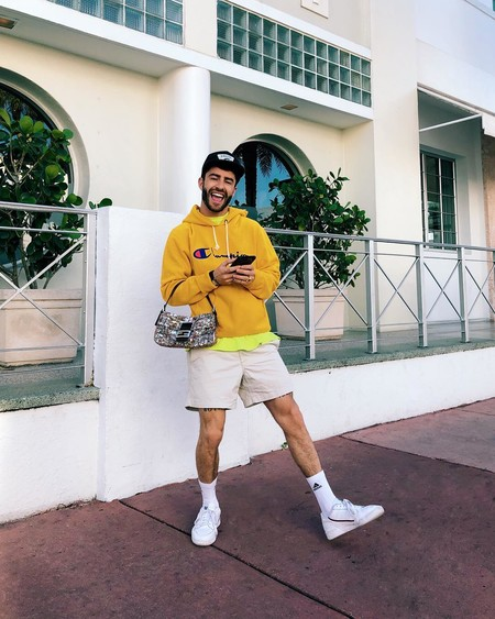 Prince Pelayo Diaz Short Ancho Pantalon Corto Trendencias Hombre Street Style 04